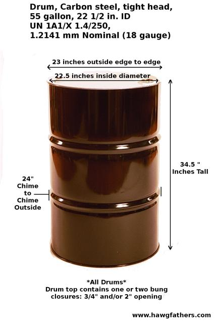 10 Gallon Barrel